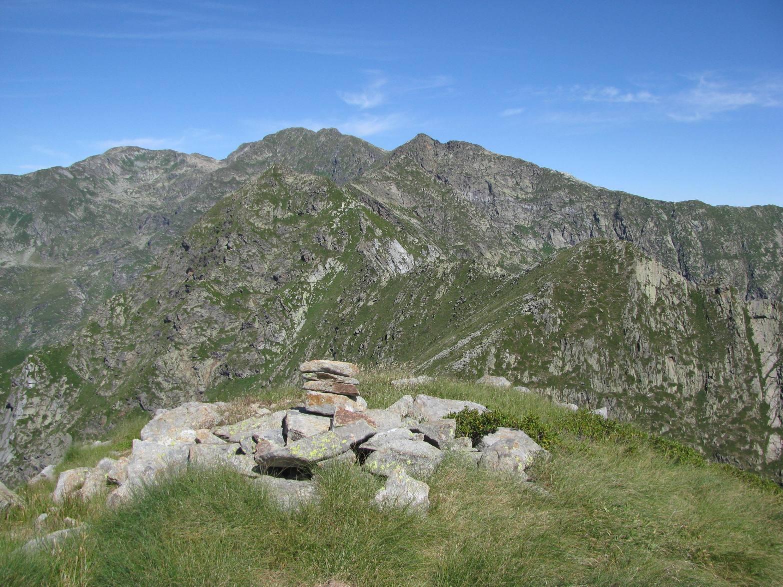 Da Punta Prafourà, vista fino al Monte del Prà