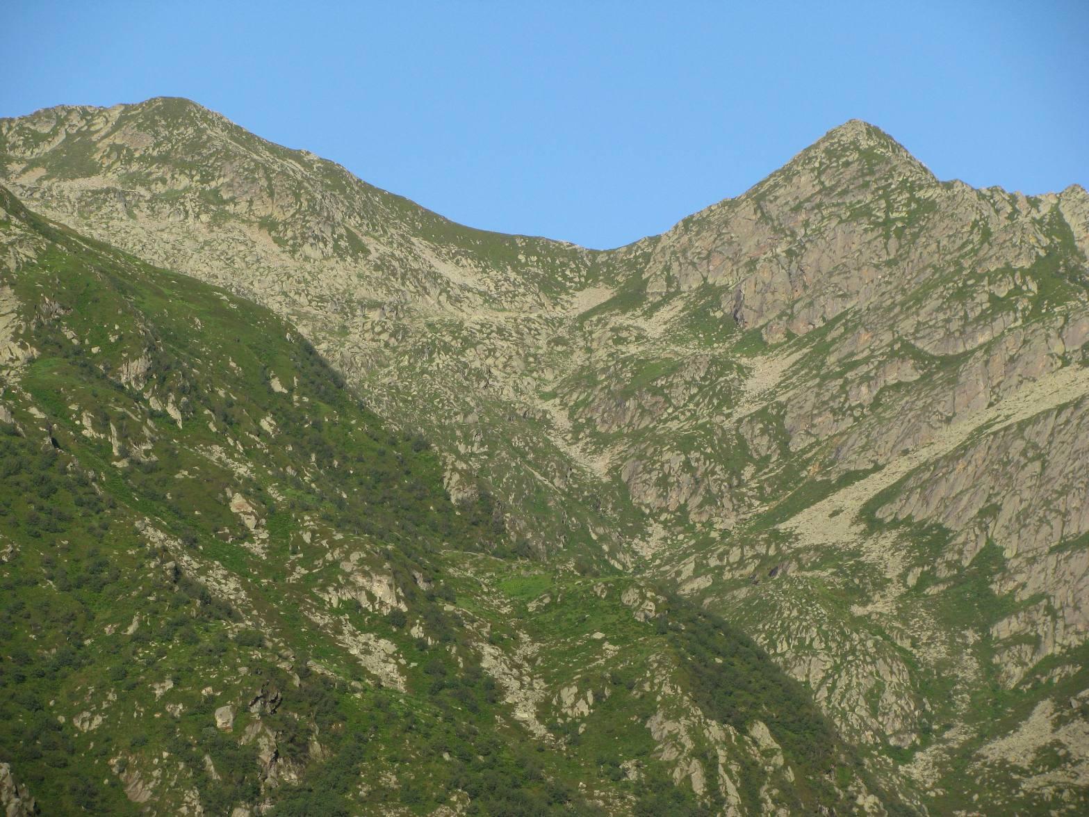 Punta Prafourà e Monte Cavallo