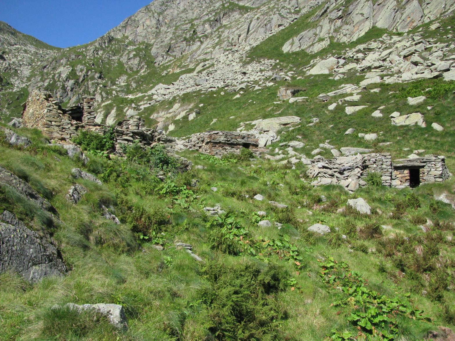 Arrivo all'Alpe Giassetto d'Asnì