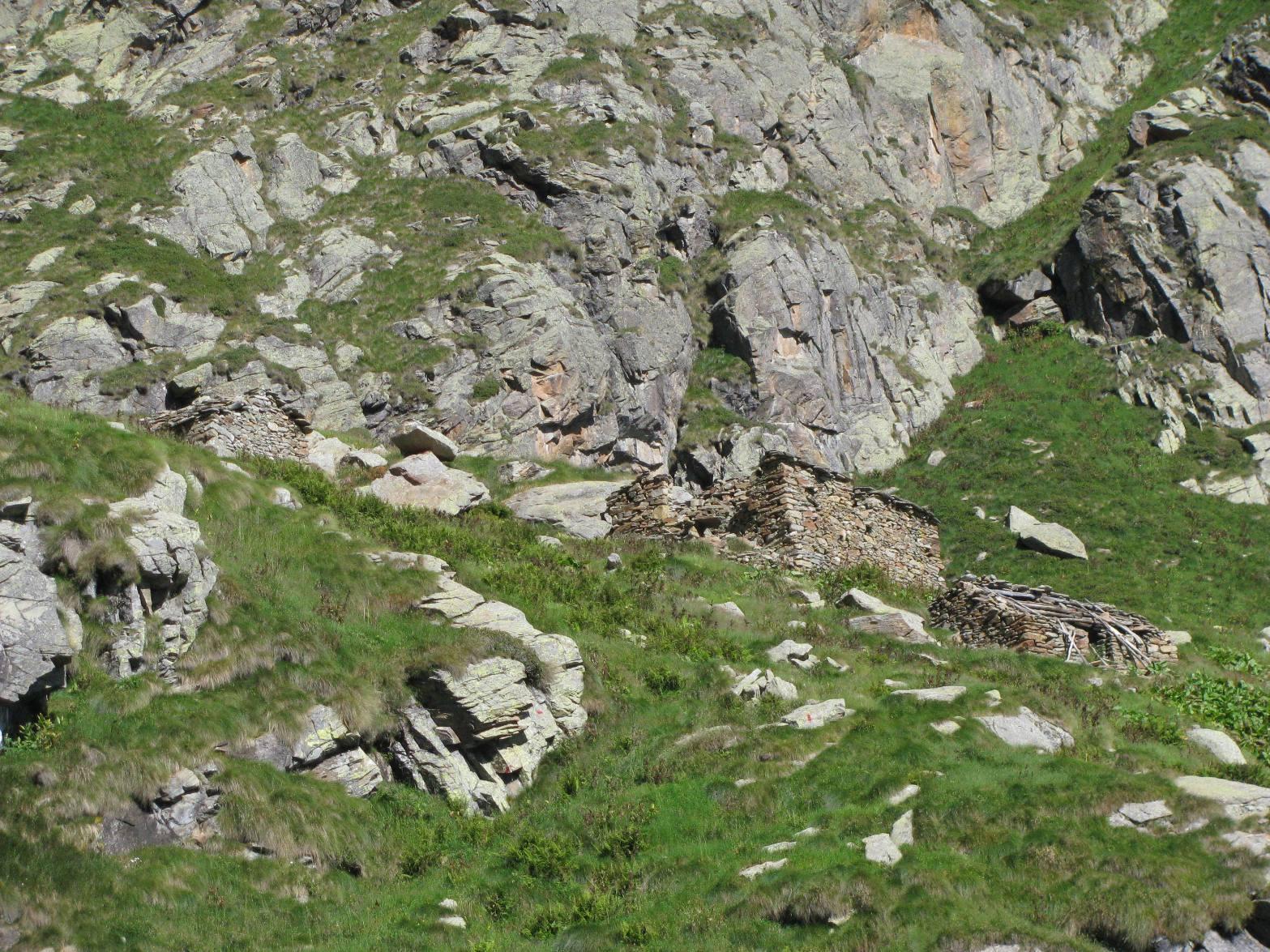 Arrivo all'Alpe Reje