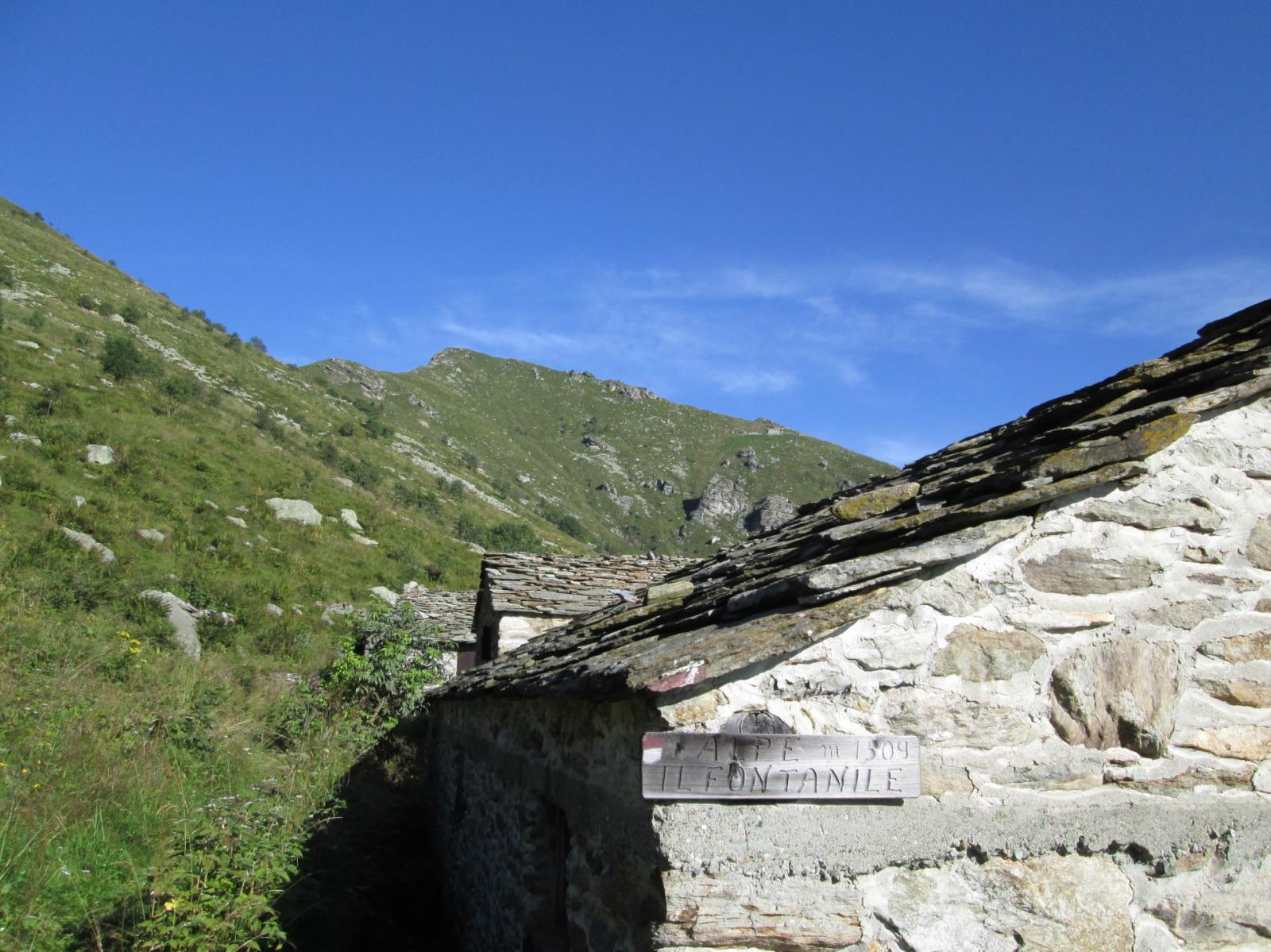 arrivo all' Alpe Fontanile