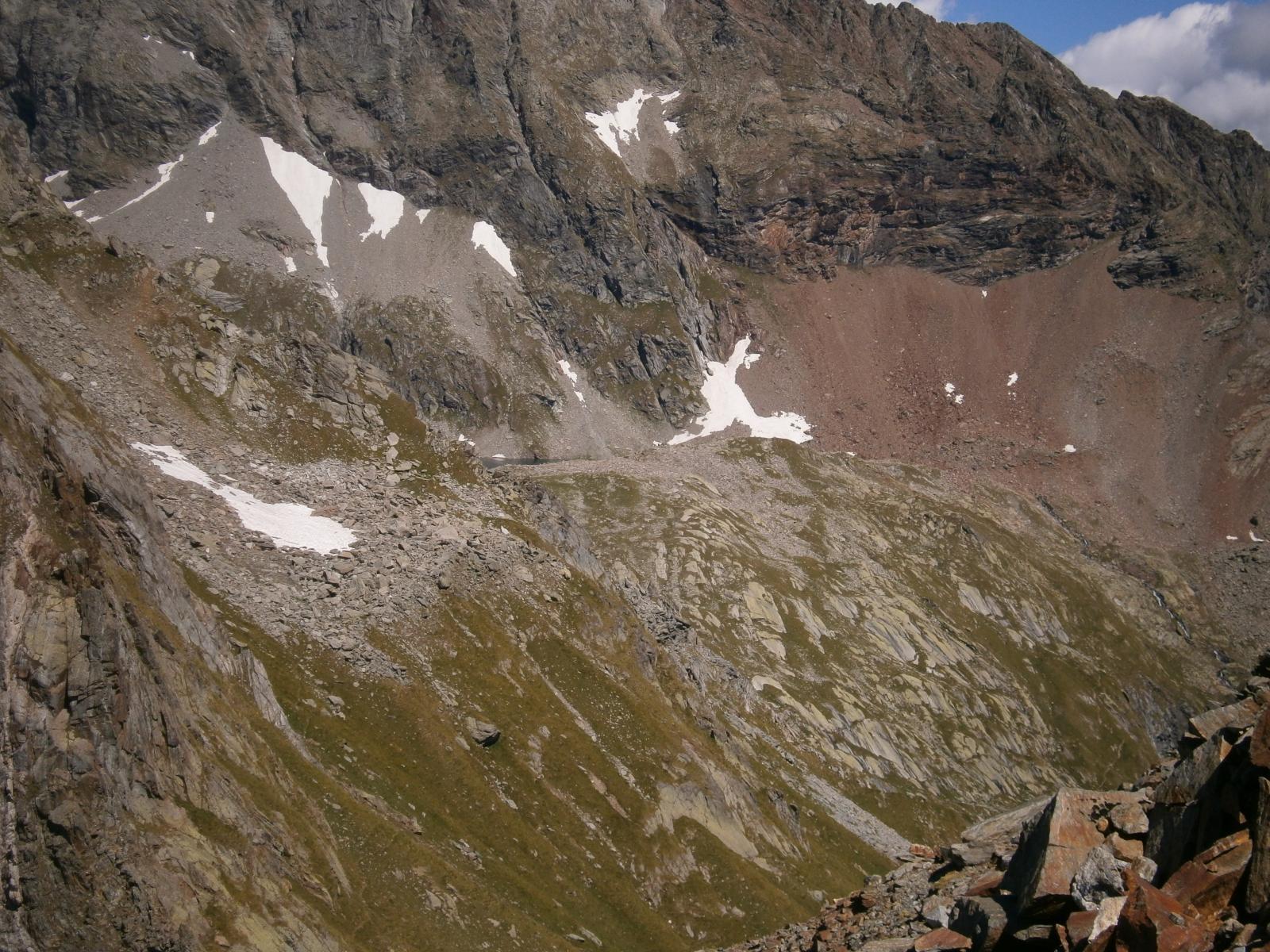 Lago Nero visto dall'Alpetto