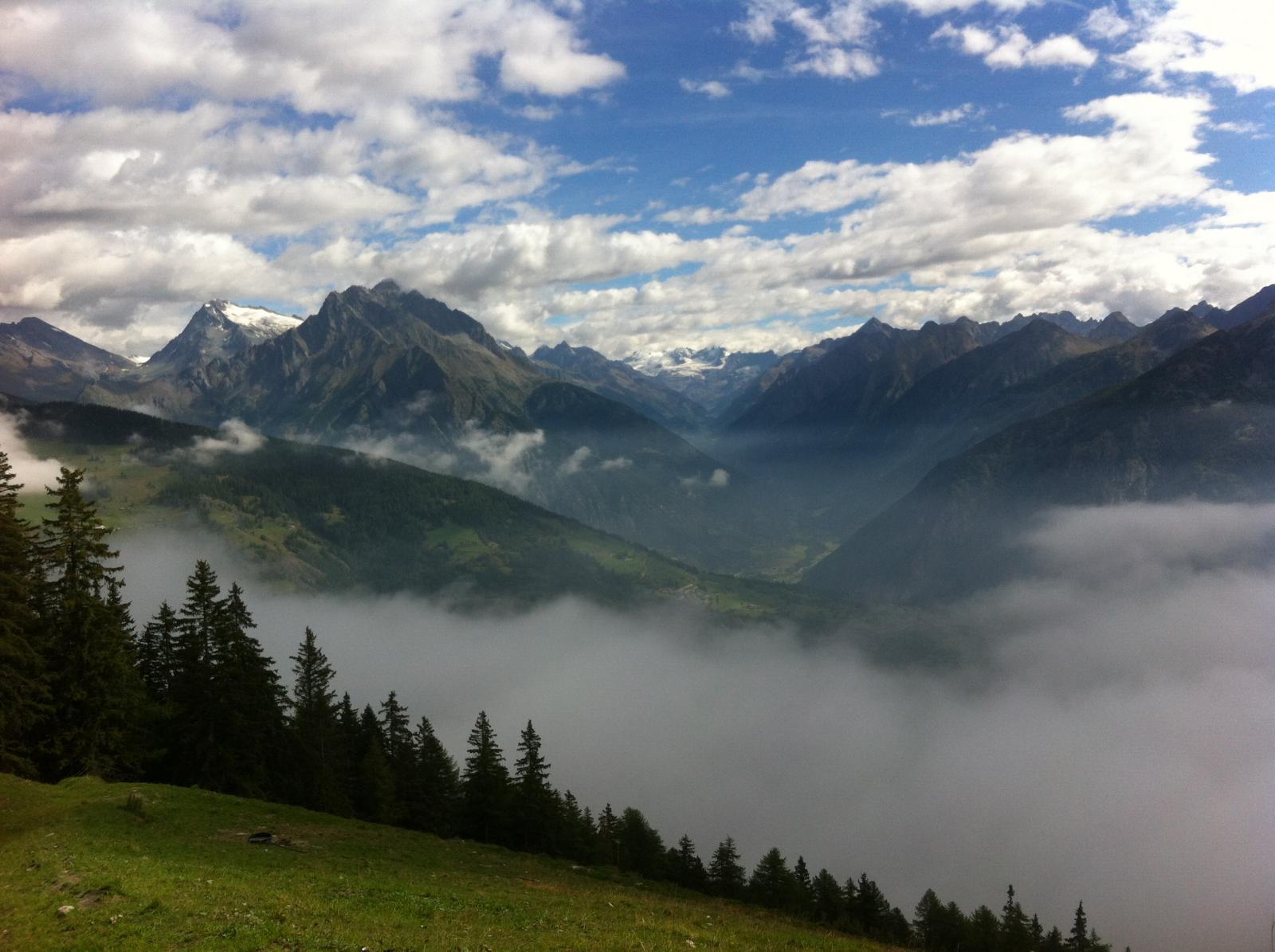 Fallére (Mont) da Flassin, giro del Mont Fallere per i Monti Vertosan e Chaligne,(3 gg) 2014-08-29