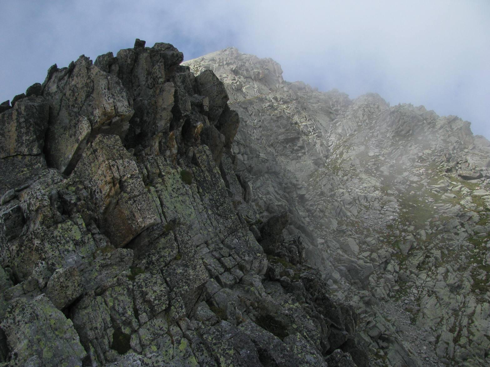 Monte Colombo dalla sua cresta est