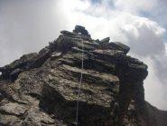 tratto della cresta alpinistica
