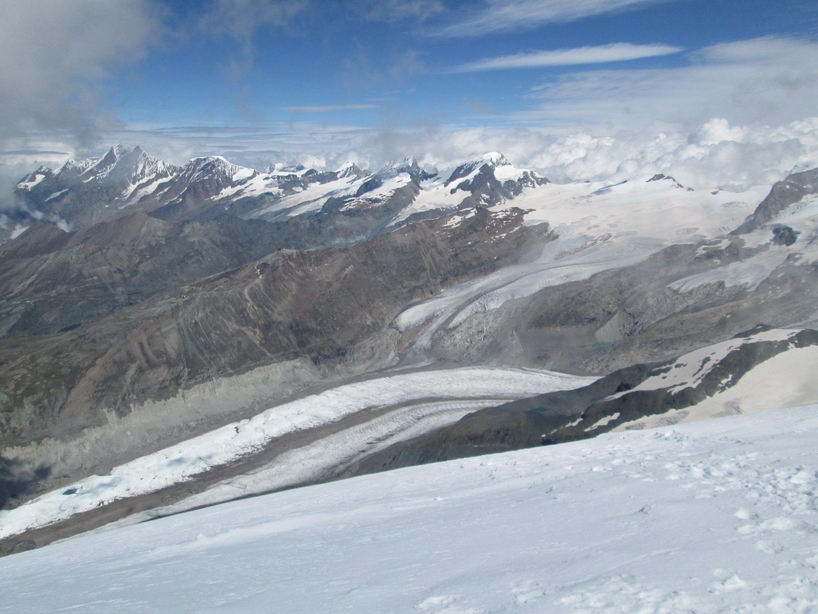 panorama sul lato Svizzero