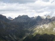 L'alto vallone di Saint Barthelemy dal Morion