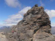 05 - sotto la Punta Basei, inizio cresta