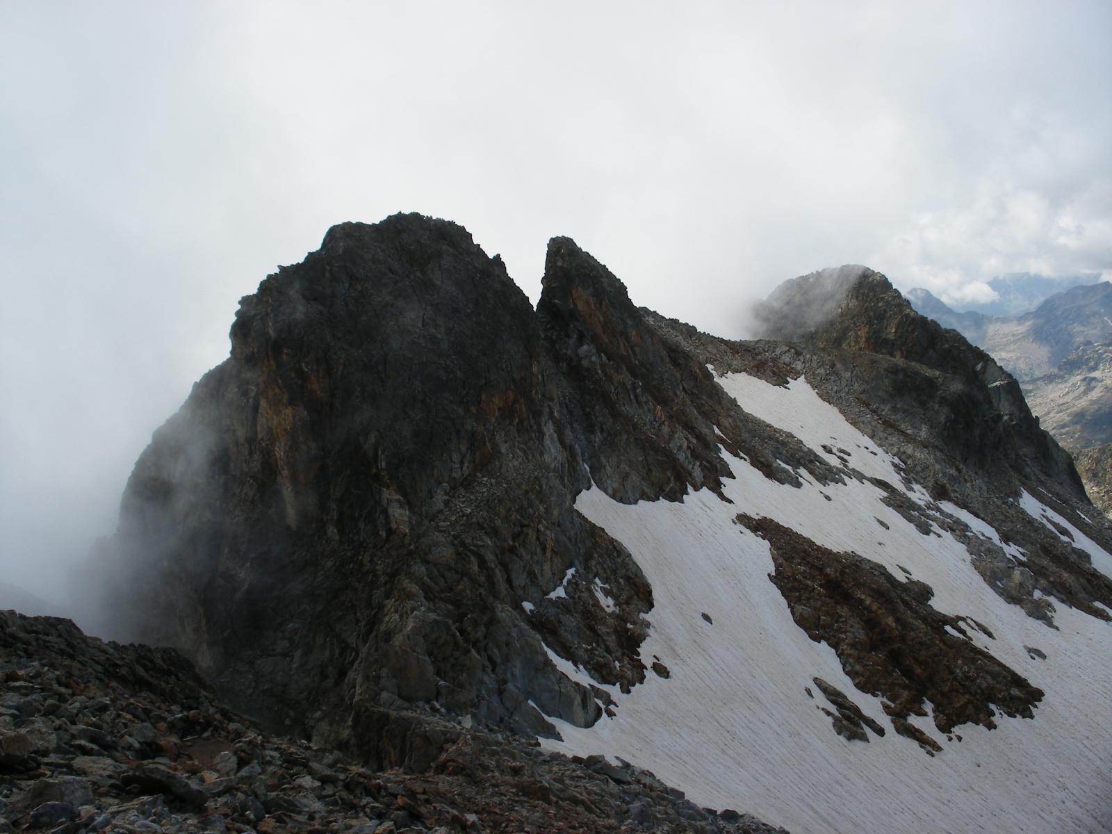 Matto (Monte cima Est, cima Centrale) da Sant'Anna 2014-08-31