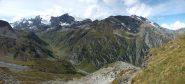 La Valgrisenche dal sentiero dei ghiacciai