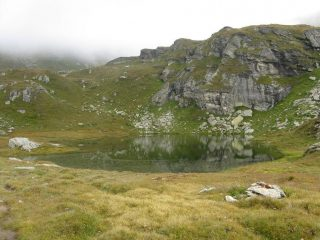 il primo lago di Valfredda