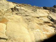 la splendida roccia della prima parte