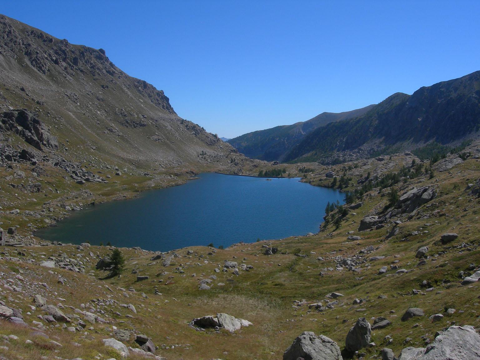 Lac Long e Refuge des Merveilles