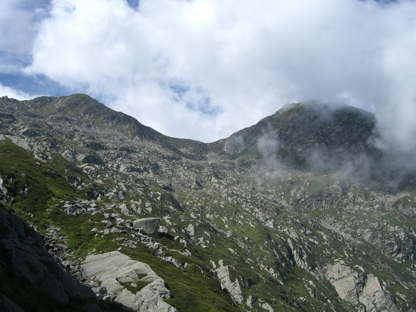 Punta Prafourà, Colle d'Asnì, Monte Cavallo