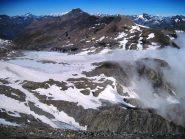 Il ghiacciaio del Rocciamelone, in discrete condizioni quest'anno