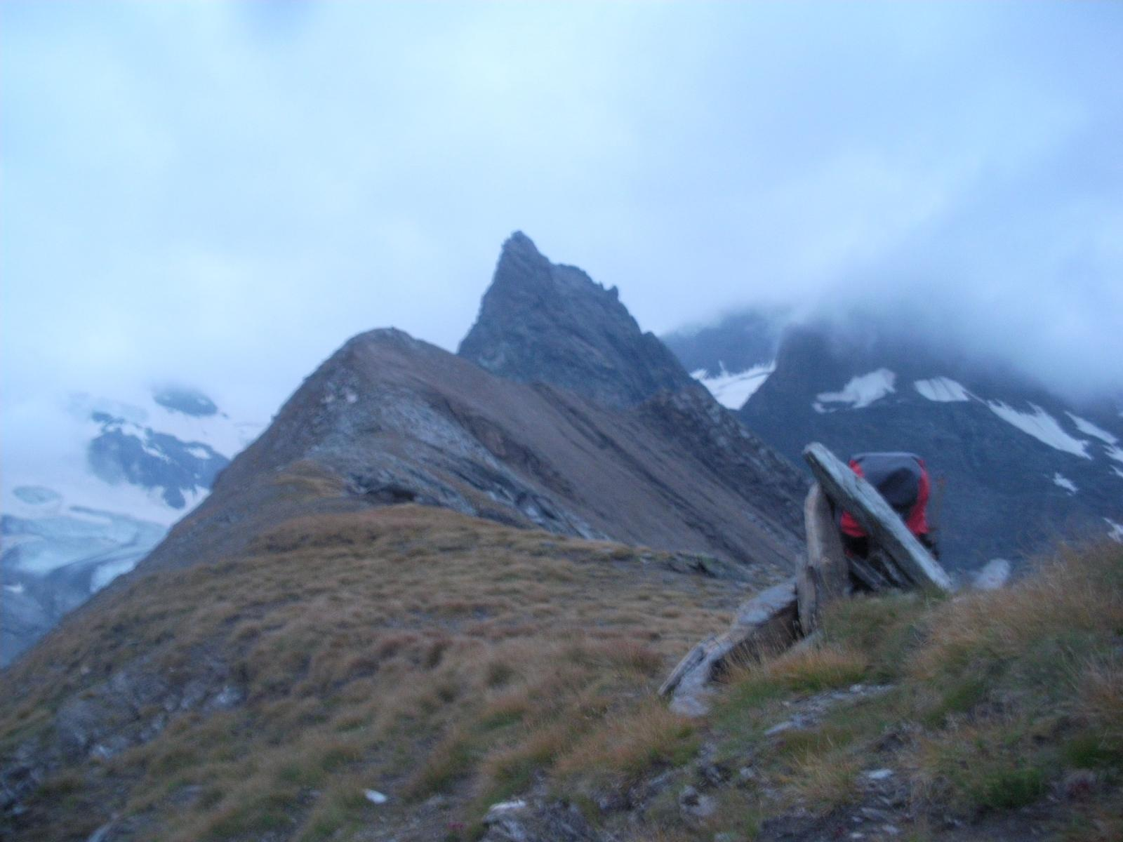 Il cervino della Maurienne dal Col dell'Ouille du Midi'..