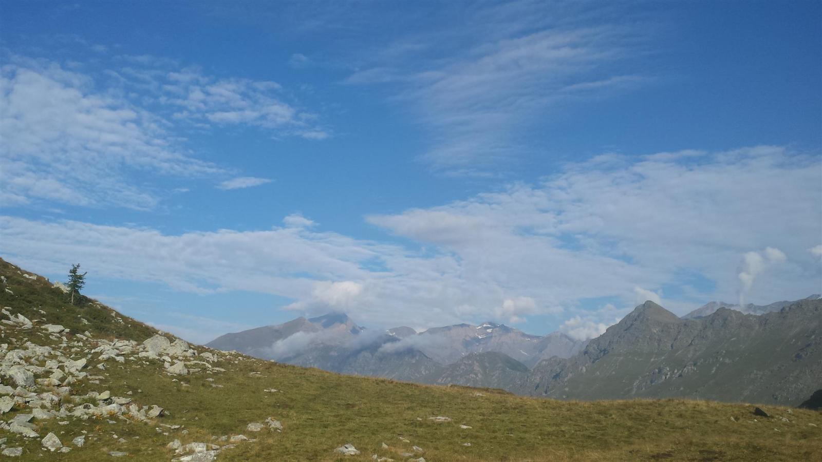 Grand' Uja ancora fuori dalle nuvole