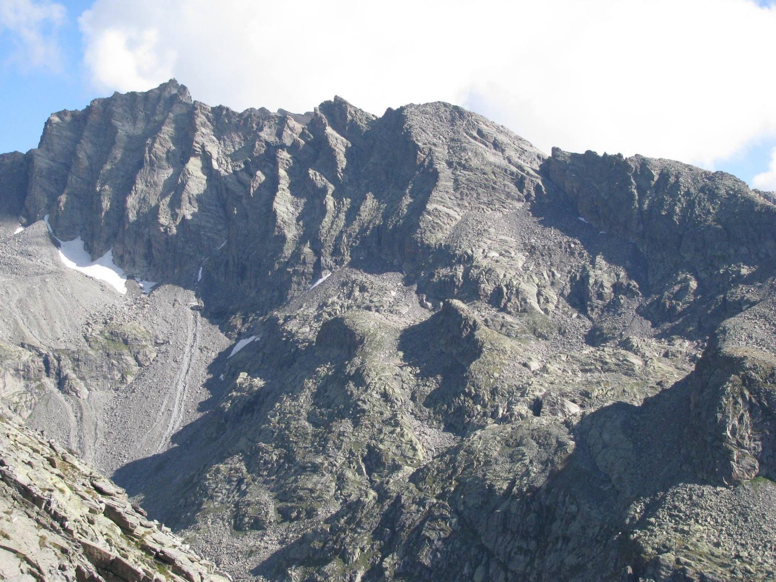 Vista su, Piccola Uja di Ciardoney e Punte di Valsoera