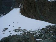 Cornice superata, mancano pochi metri di reccette alla cima Entrelor