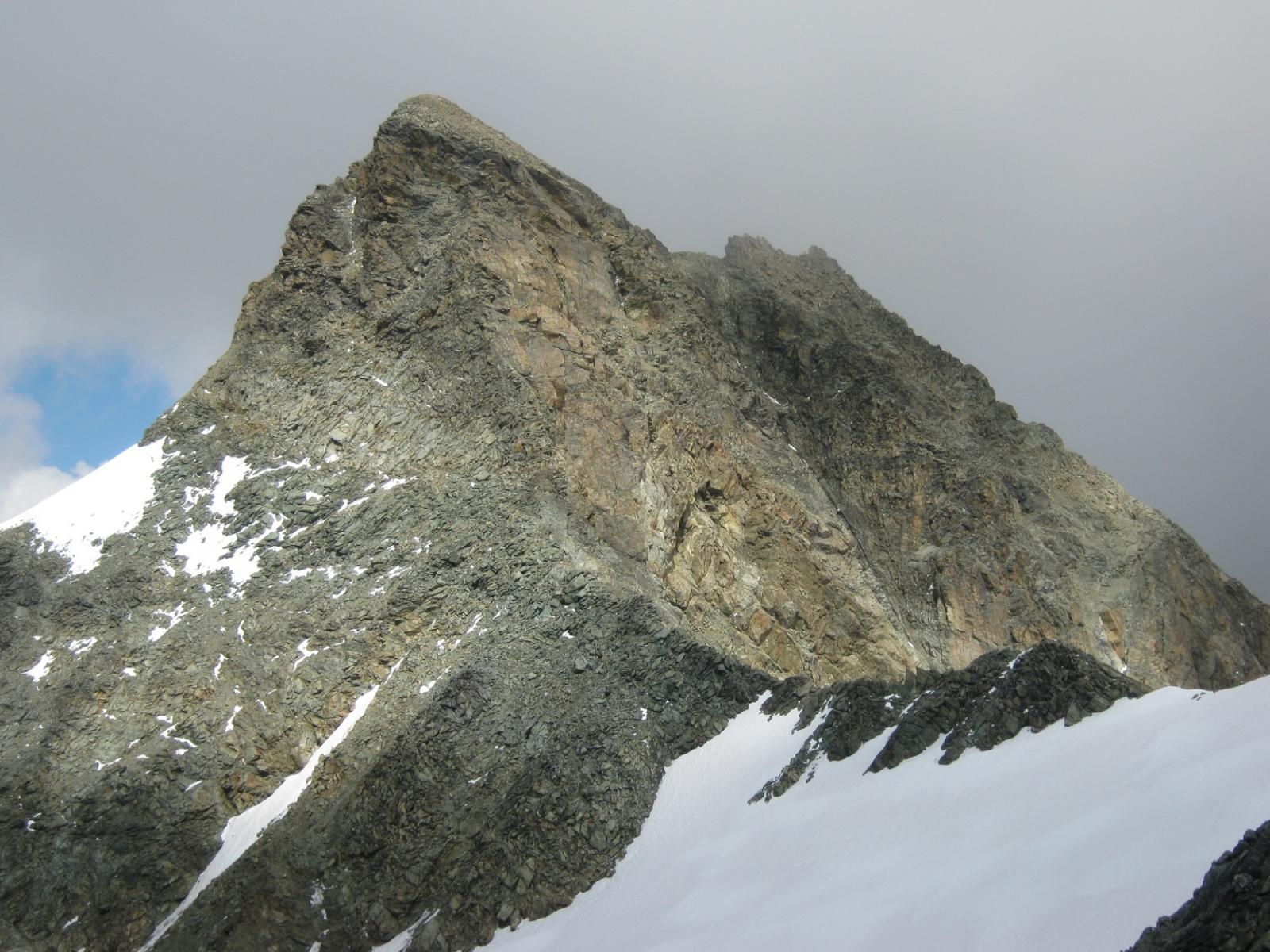 Becca d'Epicoun cresta sud
