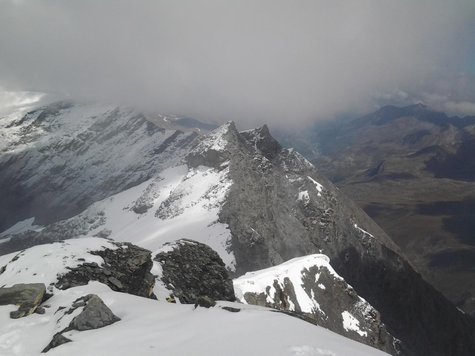 Petite Sassiere (3670 m) dalla cima della Grande Sassiere