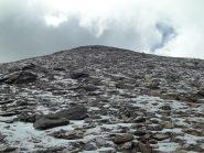 pendio ghiacciato per la nord
