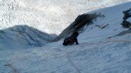 sul terzo nevaio...grande ambiente!!!