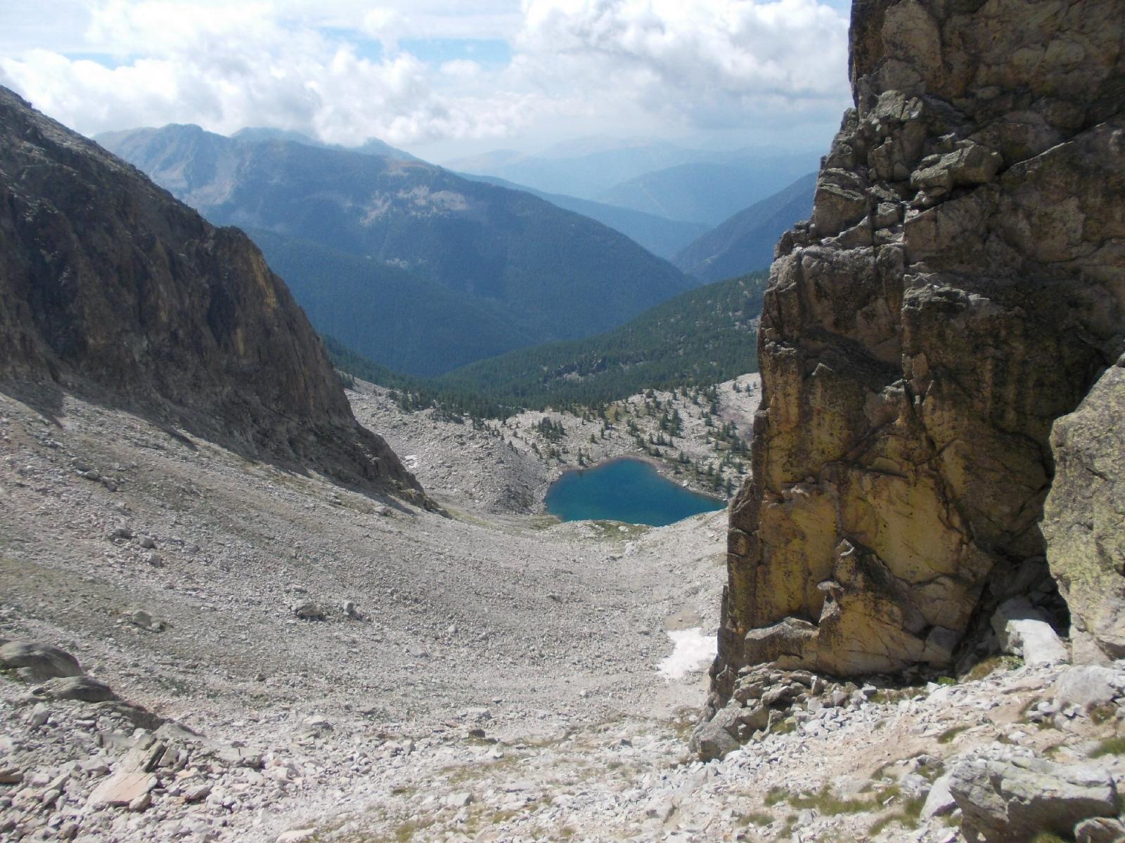 lac du Tavels dal passo