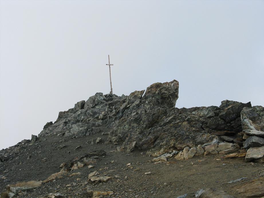 si vede la croce di vetta