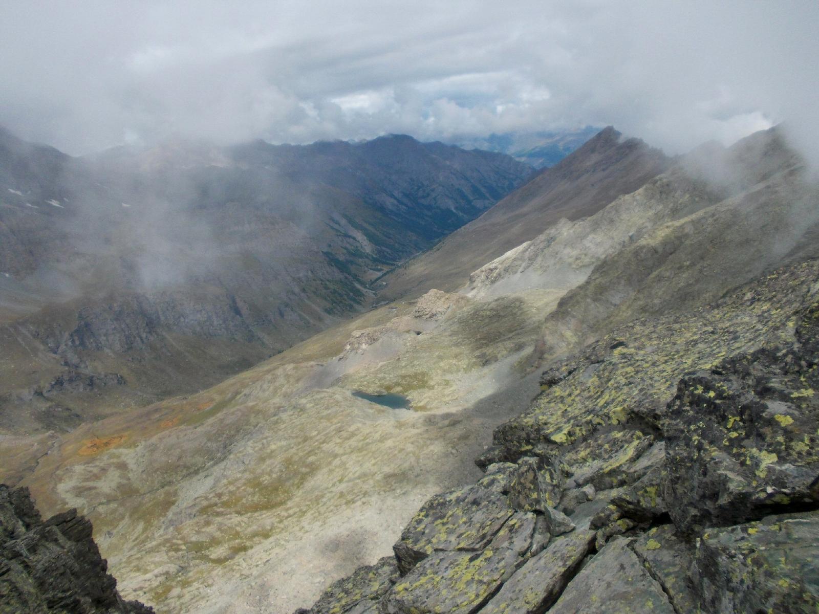 Vallone del Guil ,dalla cima