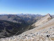 10 - Vallée des Acles dall'alto
