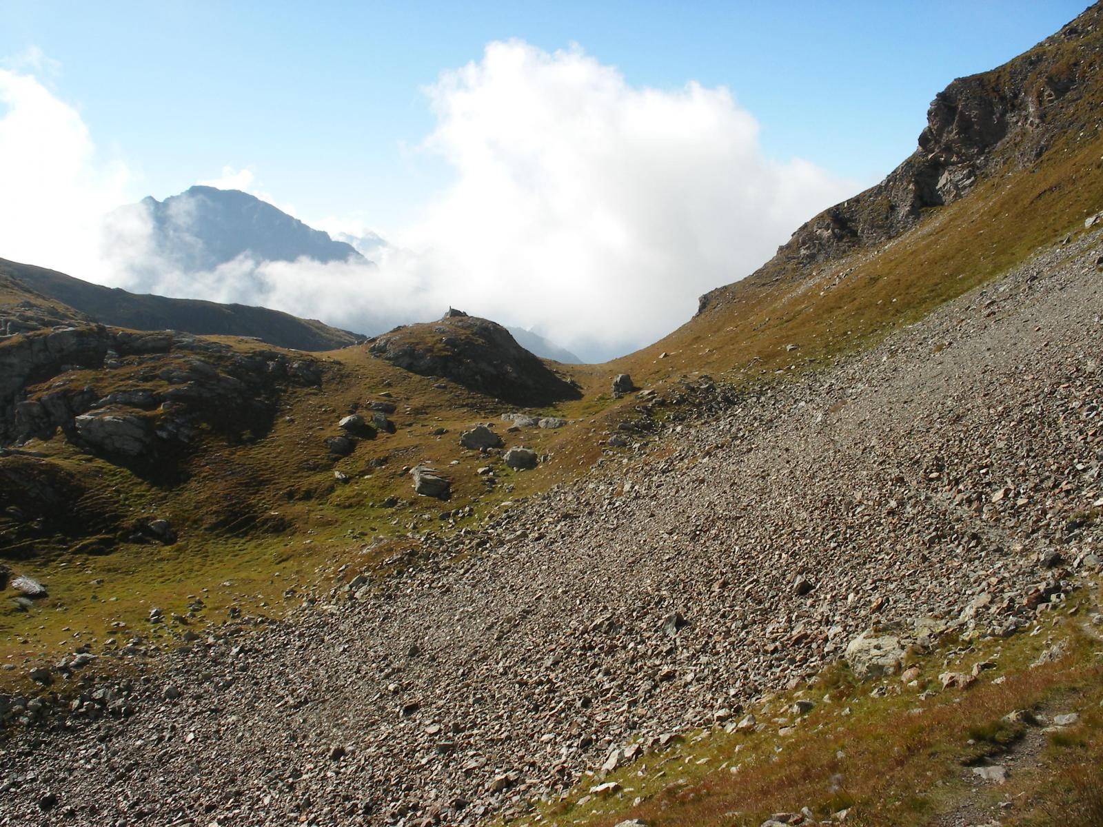 il Colle Vascoccia versante Tournalin