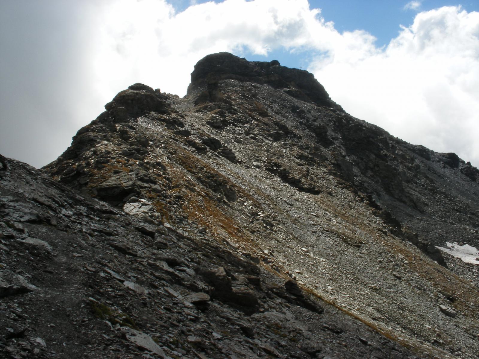 cresta nord Becca di Nana