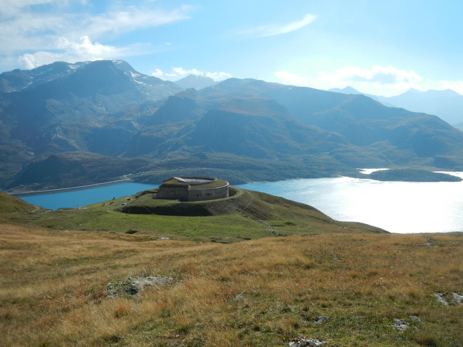 Cavales (Plan des) dalla Diga del Moncenisio per il Forte Ronce 2014-09-12