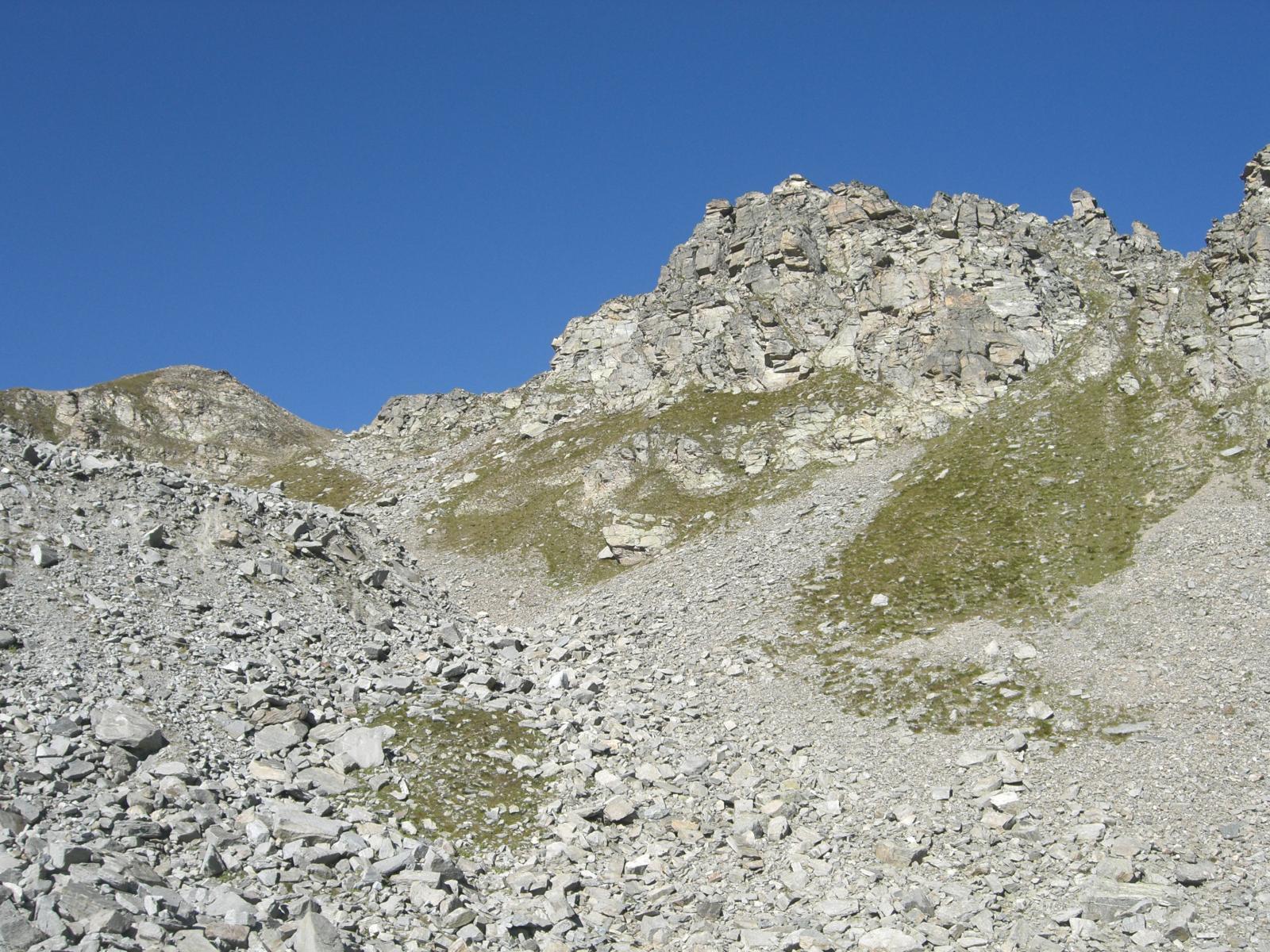 Colle della Crubià 2712 e Cima della Costiera dell'Uja