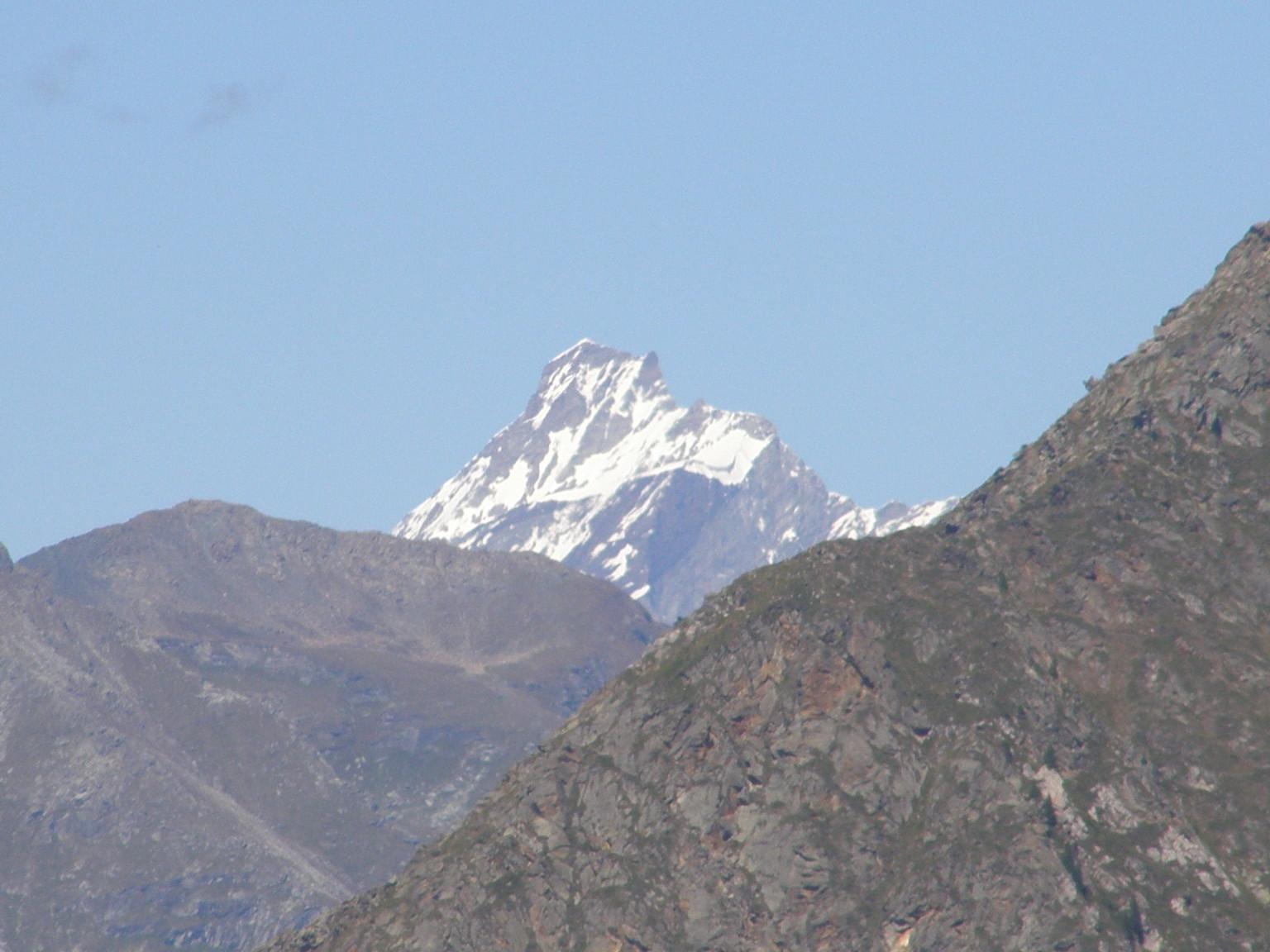 Dent D'Herens dal colle Chaparelle