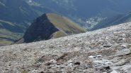 Punta della Borra e in basso Piamprato