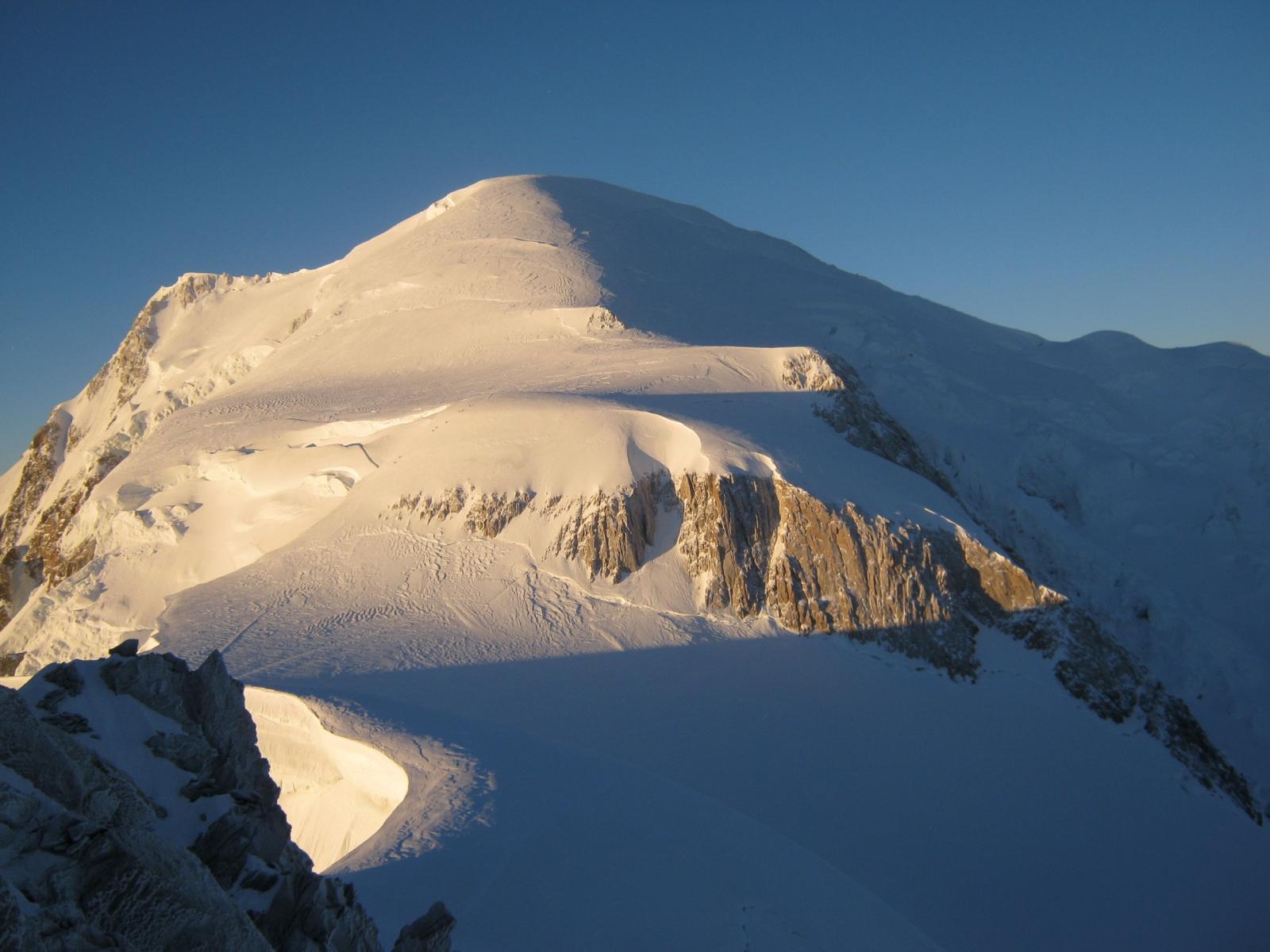 Bianco (Monte) Via Normale dal Refuge des Cosmiques per il Col du Maudit 2014-09-13