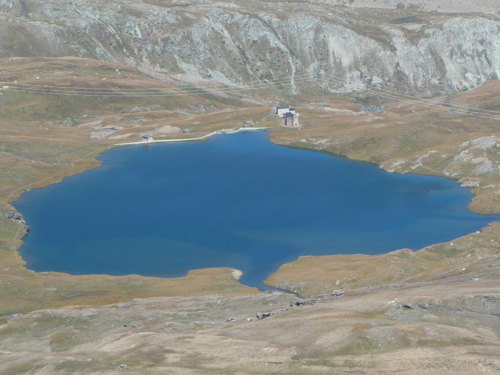 lago e santuario del Miserin