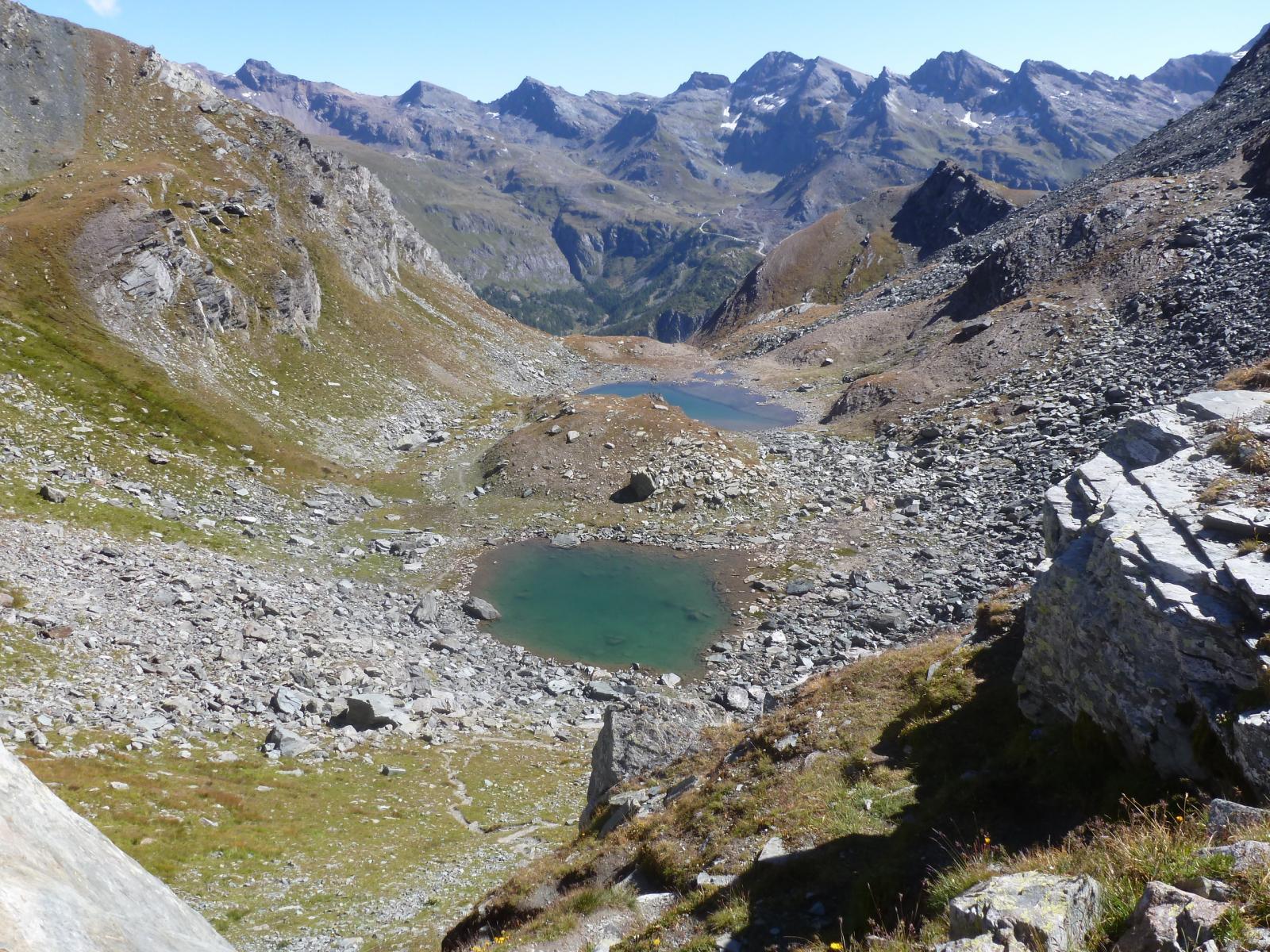Rothorn (Passo del) e Laghetti del Saler da Staffal 2014-09-13