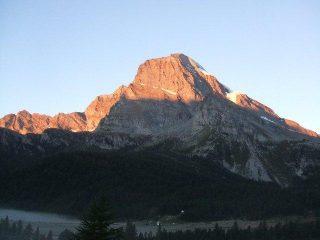 alba sul Monte Leone e Alpe Veglia