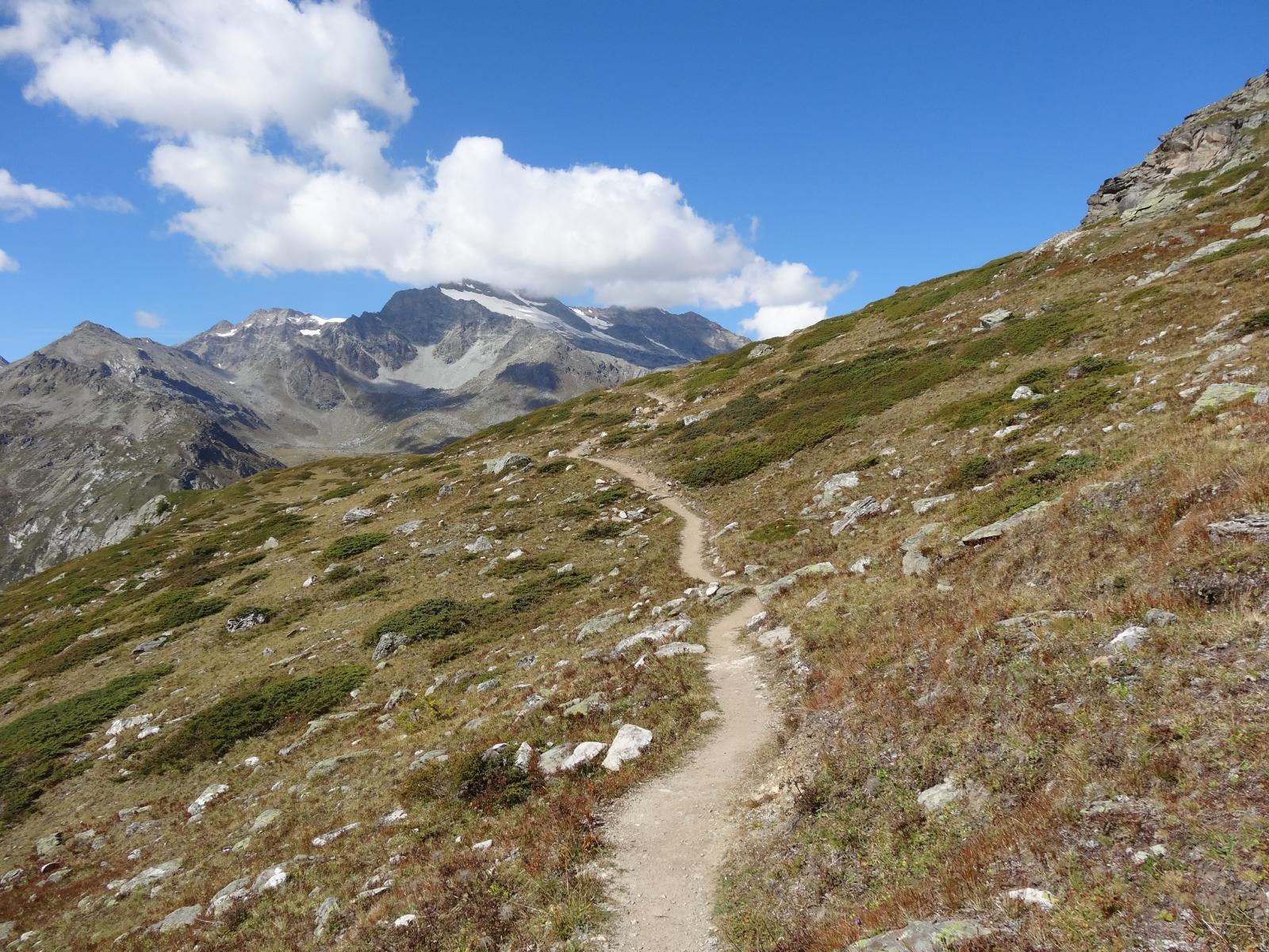Chalet de l'Epeè (Rifugio) da Valgrisenche, giro della Diga di Beauregard 2014-09-14