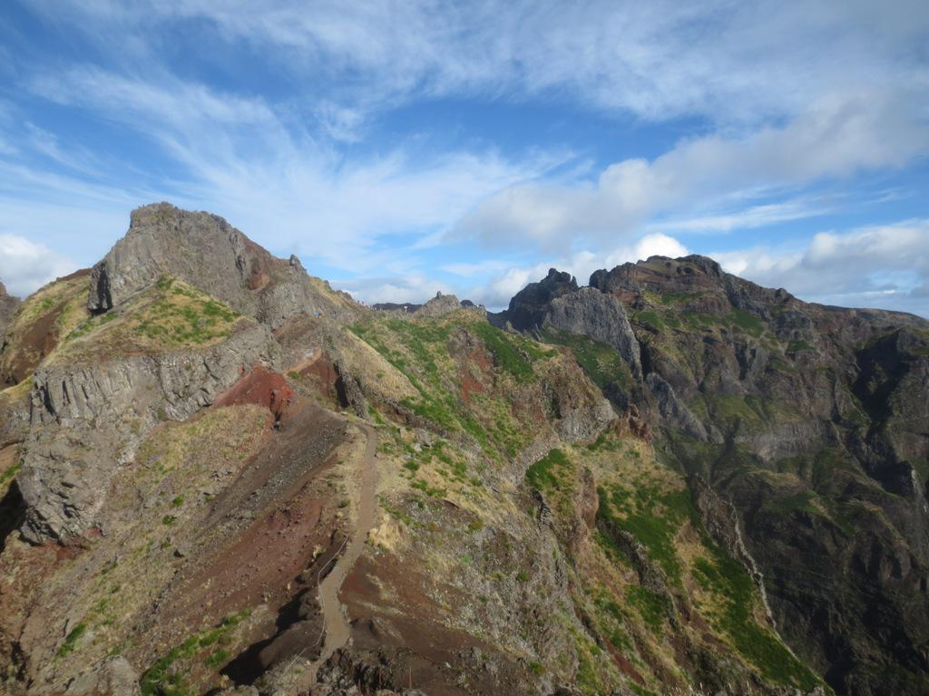 Ruivo (Pico) traversata dal Pico do Areeiro 2014-09-14
