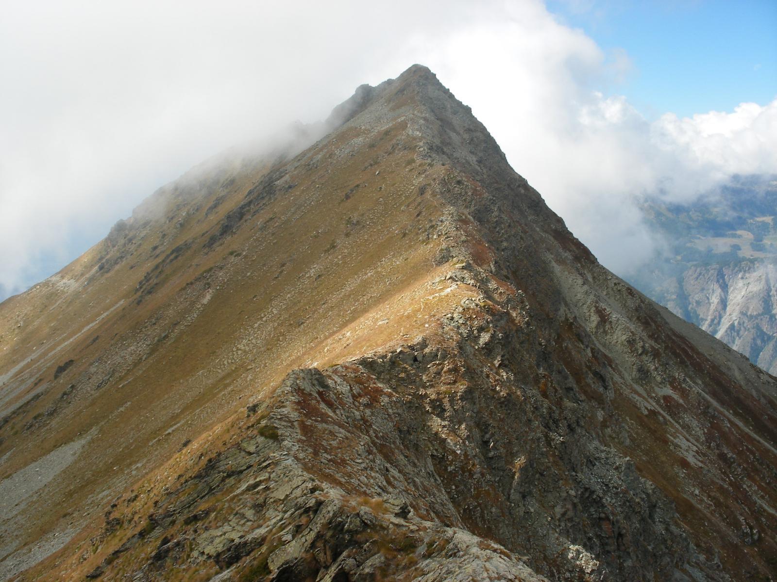 la cresta finale del Tantane'