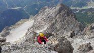 Sergione si arrampica
