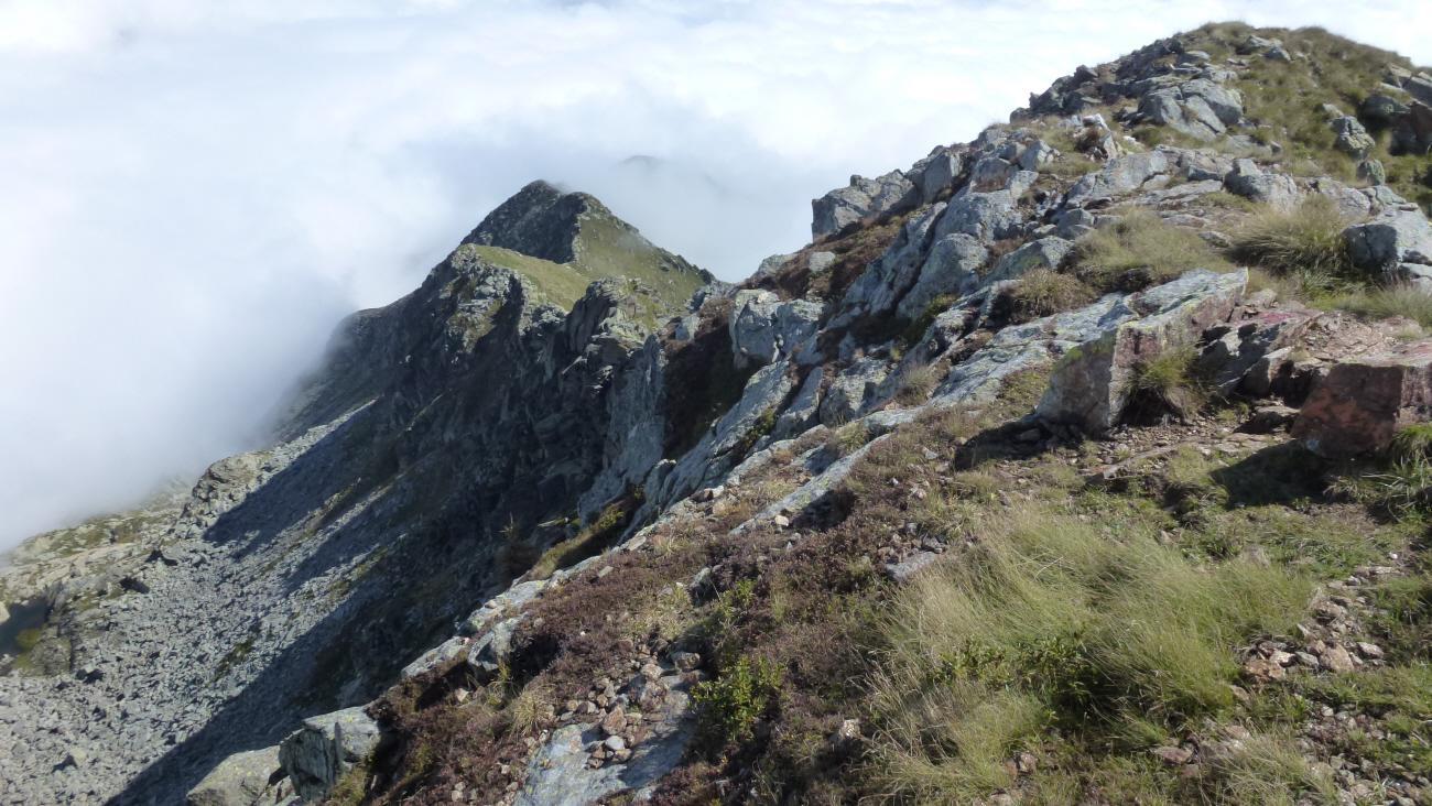 Prafourà (Punta) e Monte Cavallo da Pian della Nere 2014-09-20