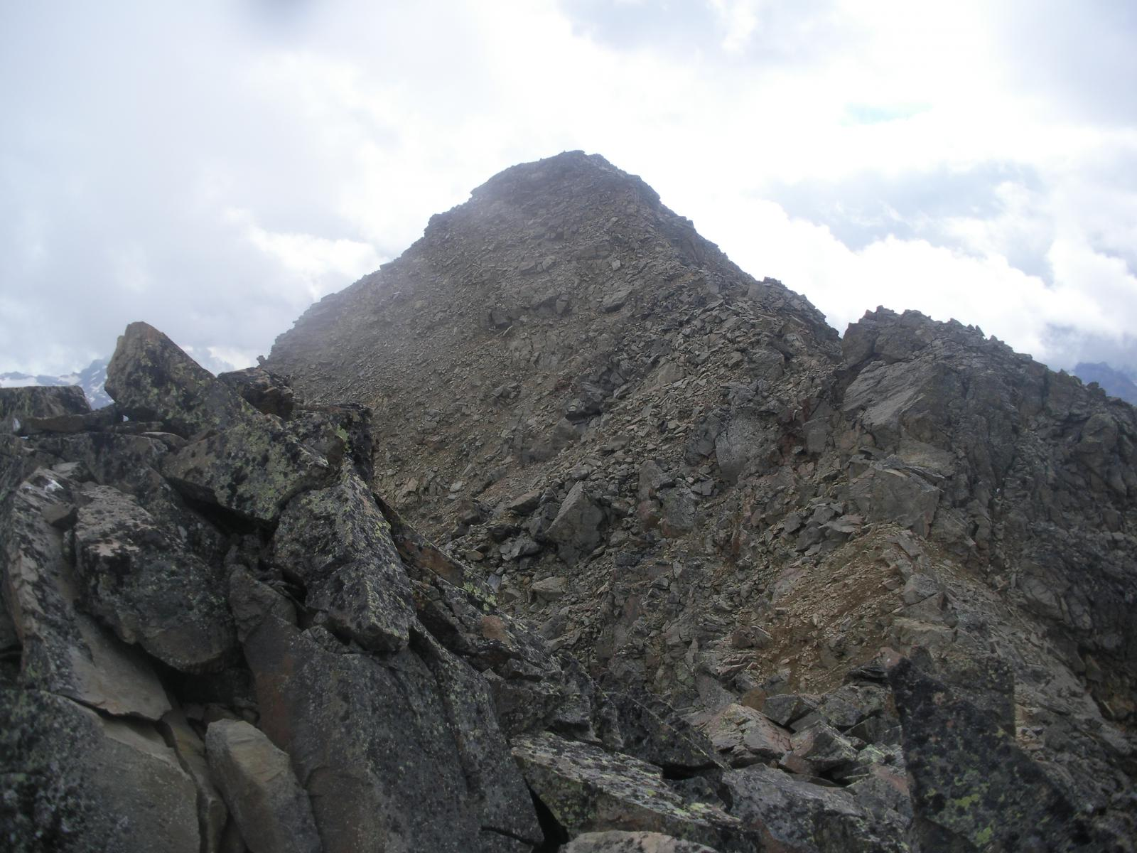 La Rolettaz dalla cresta nord..