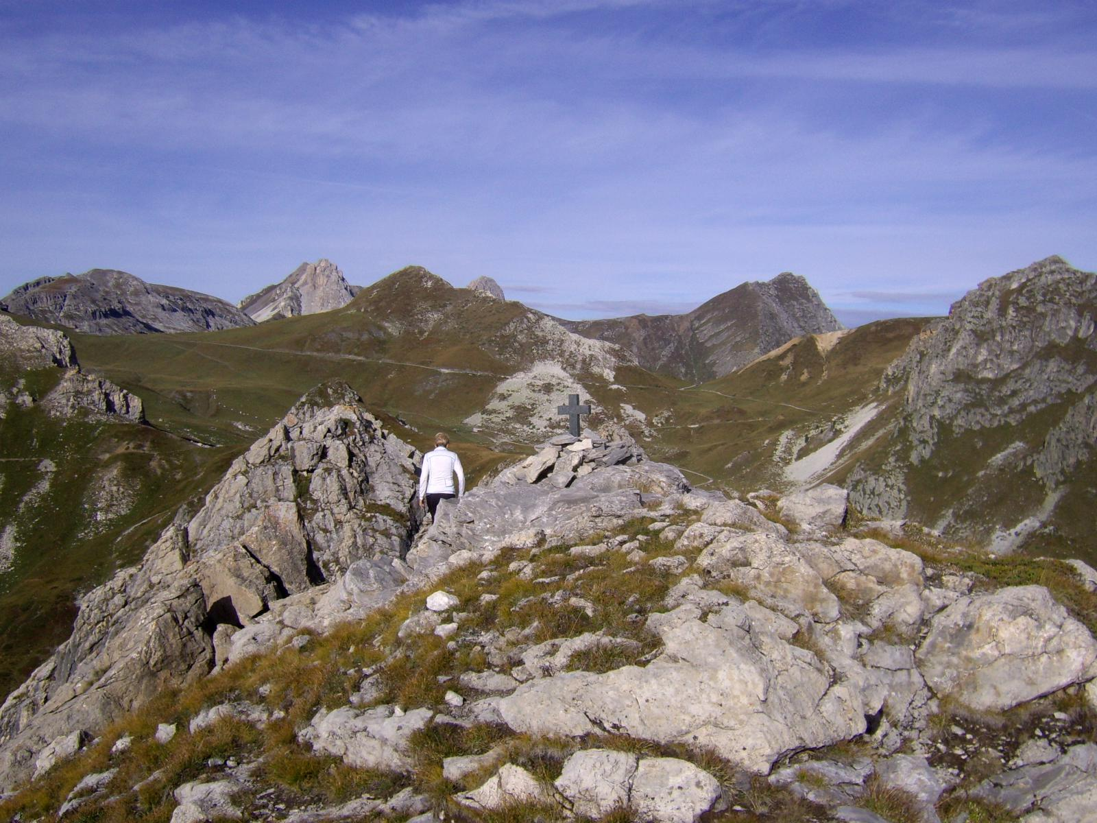 Rocca Parvo vetta