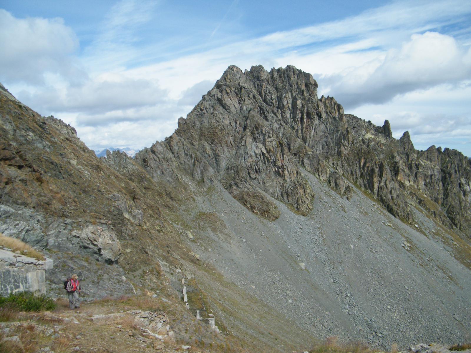 Peiron (Monte) da Prati del Vallone 2014-09-21