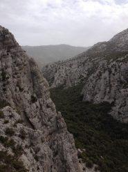 Panorama verso l'imbocco del Doloverre